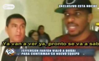 """Jefferson Farfán: """"Para mí lo importante es volver a Europa"""""""
