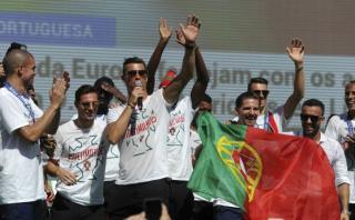 Cristiano Ronaldo hizo vibrar a Portugal con su famoso grito
