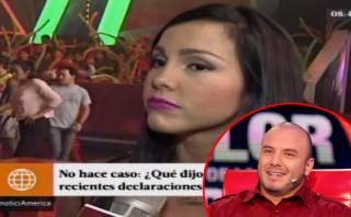 Paloma Fiuza reaccionó tras confesiones de Jenko del Río