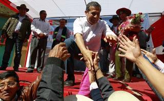 """Humala pide """"no poner piedras"""" a PPK para elección de Gabinete"""