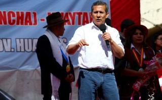 """Humala sobre Santos: """"No hay persecución política para nadie"""""""