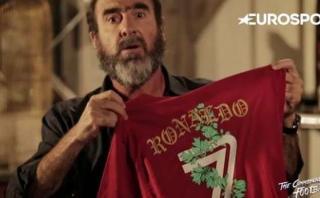 Eric Cantona se burló y criticó a Cristiano Ronaldo [VIDEO]