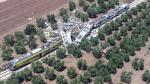 Italia: La gran destrucción que deja el choque de dos trenes - Noticias de accidente de tren