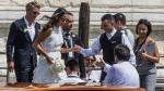 Schweinsteiger y Ana Ivanovic se casaron en Venecia [FOTOS] - Noticias de bastian schweinsteiger