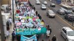 Surco: alumnos de universidad Villarreal marcharon a la Sunedu - Noticias de nueva ley universitaria