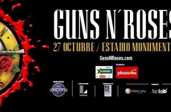 Guns N' Roses: confirman show en Lima con formación original