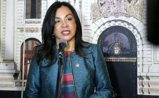 """Marisol Espinoza: """"Nunca he recibido órdenes de Nadine Heredia"""""""