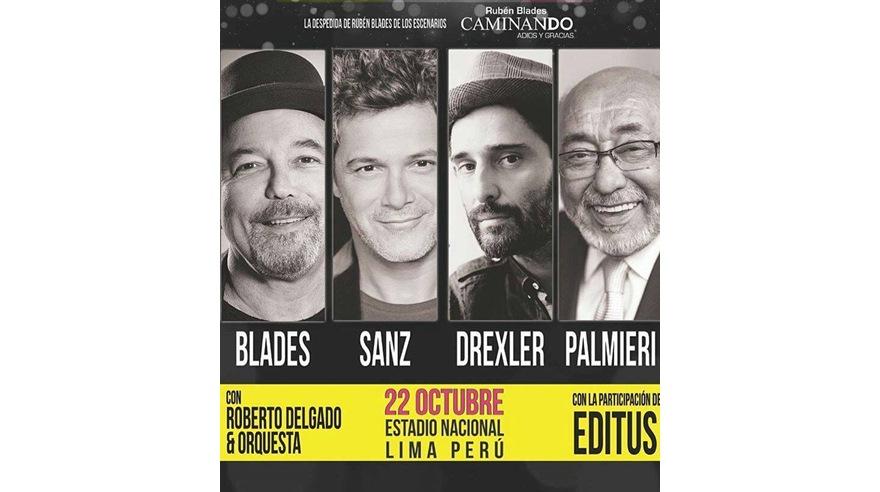 Rubén Blades se despide de los escenarios con gran concierto. (Foto: Difusión)