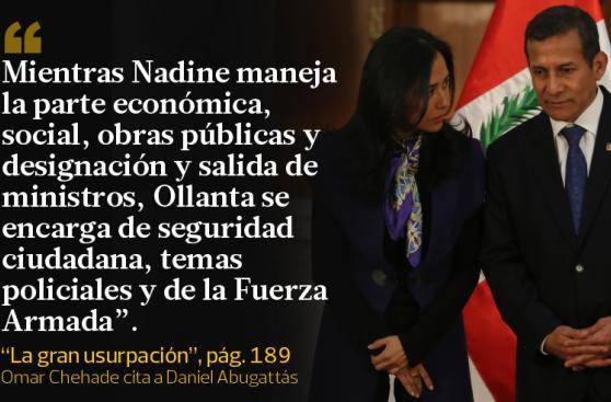 Lo que dice Omar Chehade sobre Heredia y Humala en su libro