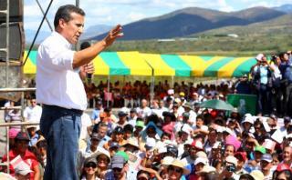 "Humala: ""Próximo gobierno debe continuar revolución educativa"""