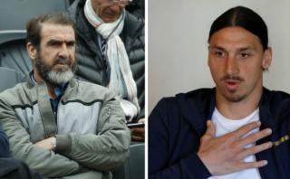 """Cantona aclara a Ibrahimovic quién es el """"Rey"""" en Manchester"""
