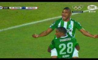 Atlético Nacional marcó el 1-1 con golazo de Borja [VIDEO]