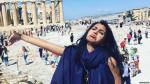 Las tristes fotos de la mujer que se fue sola de luna de miel - Noticias de vacaciones en grecia