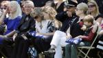 EE.UU.: Dolor durante funeral de policías asesinados en Dallas - Noticias de marielle thompson