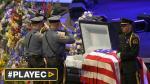 Dallas: Miles asistieron a los funerales de policías asesinados - Noticias de marielle thompson