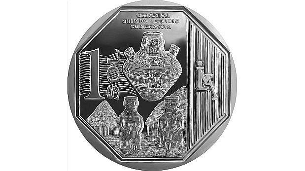 BCR emite moneda de S/1 alusiva a cerámica shipibo-conibo