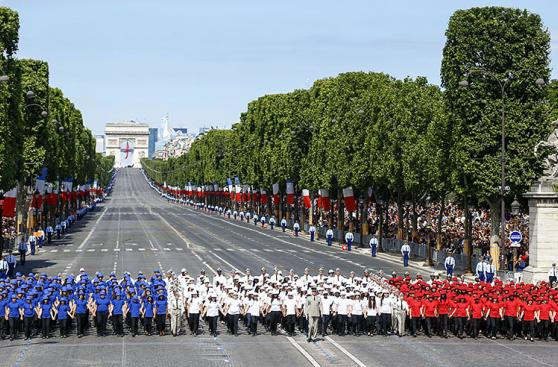 Día de la Bastilla: Así celebró Francia su fiesta nacional