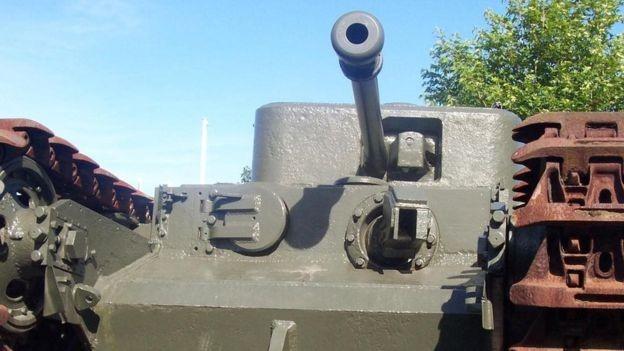 Muchos de los inventos de Hubart eran tanques Churchill modificados.