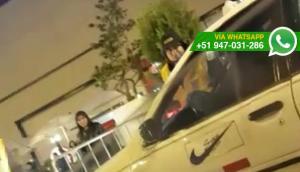 Taxista atropelló a personal de seguridad de centro comercial