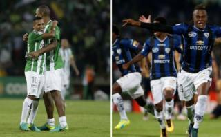 Atlético Nacional vs. I. del Valle: final de Copa Libertadores