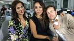 """""""Mis tres Marías"""": Cathy Sáenz, Rodrigo y Karina Jordán en vivo - Noticias de rodrigo villanueva"""