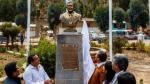 Ollanta Humala inauguró busto en su honor en Ayacucho [FOTOS] - Noticias de julio urquizo