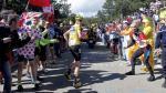 Tour de Francia: líder tuvo que correr tras perder bicicleta - Noticias de chris yates