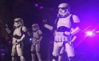 Estos 'troopers' celebraron el fin del rodaje de Star Wars 8