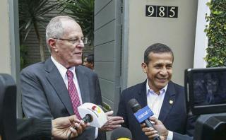 PPK recibió en su casa a Ollanta Humala y Nadine Heredia