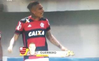 Potencia y definición: Paolo Guerrero marcó gol a Botafogo