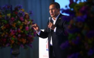 """Humala: """"Es una buena señal"""" la permanencia de Jaime Saavedra"""