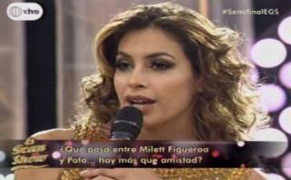 Gisela reprendió a bailarín por 'maltrato' a Milett Figueroa