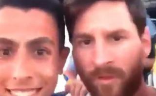 Lionel Messi vivió accidentado momento con aficionados en Ibiza