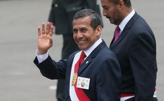 Ollanta Humala: su aprobación sube a 25% en su último mes