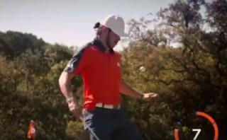 Gareth Bale y las interminables pataditas con una bola de golf