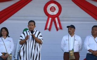 Humala: La primera pelea como gobierno fue contra la burocracia