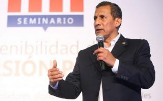 """Ollanta Humala: """"Que fallo ayude a buscar solución en Doe Run"""""""