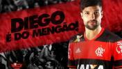 Diego, crack brasileño, jugará con Paolo Guerrero en Flamengo