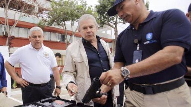 Armas no letales: MML dice que empresa no necesita autorización