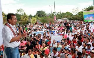 Humala: Queremos un Estado que trabaje, no uno que sea holgazán