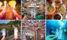 Esta pareja inmortaliza su viaje con los más divertidos selfies