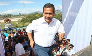 "Ollanta Humala: ""Todavía hay Ollanta para rato"""