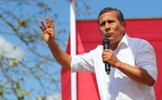 "Humala recordó promesa de gas barato: ""Familias ya lo tienen"""