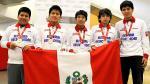 Perú obtiene cinco medallas en Olimpiada Mundial de Matemática - Noticias de raúl alcántara castillo
