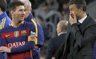 Messi: Luis Enrique hizo confesión sobre renuncia del crack