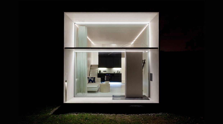 La peque a casa que se puede trasladar en menos de un d a - Vivir en una casa prefabricada ...
