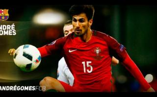 Barza se adelantó a Real Madrid: Andrés Gomes es jugador culé