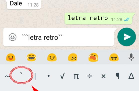 """Así puedes usar la nueva letra """"secreta"""" que tiene WhatsApp"""