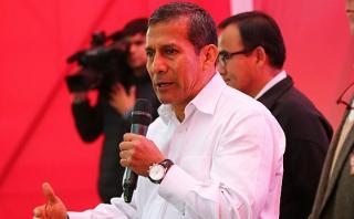 Humala: Cumplimos grandes metas, pero también cometimos errores