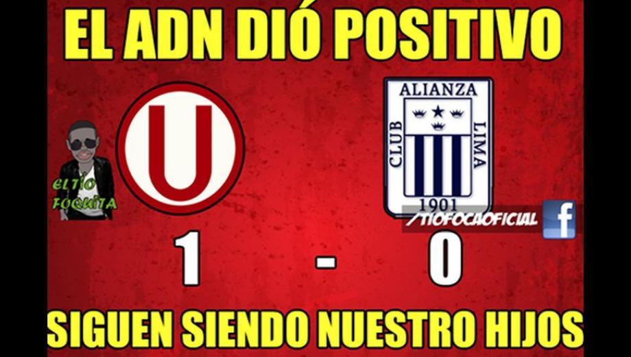 Universitario-Alianza Lima: memes se burlan de derrota íntima